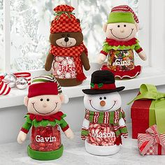 Festive Friend Plush Treat Jar | Personal Creations