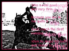 barrel racing quotes and sayings | Discuss Fun Barrel Racing Pics/Poem at the Horse Chat forum - Horse ...