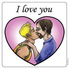 cards gay Free e valentine
