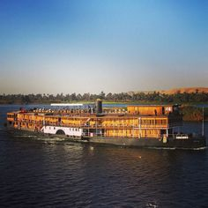 This is the #Sudan - a traditional steamship that is still cruising on the Nile.  You may recognise it from #AgathaChristie 's #DeathontheNile - Built in 1885 for King Fouad this steamship has had many eminent guests over the years. Agatha Christie was inspired to write Death on the Nile after travelling on the boat and decades later the S/S Sudan provided the set for many of the films scenes.  Last year I was lucky enough to be on a #Rivercruise on #Oberoi Philae - a stunning luxury river…