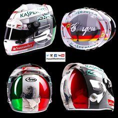 Vettel's 2016 Italian GP Helmet