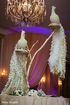 ideas for wedding backdrop reception indian floral design <br> Indian Reception, Wedding Reception Backdrop, Wedding Mandap, Desi Wedding Decor, Wedding Stage Decorations, Flower Decorations, Wedding Designs, Party, Backdrop Design