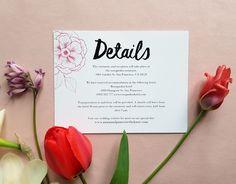 Floral wedding invitation set / Editable & Printable / available in my Etsy Shop Floral Wedding Invitations, Wedding Invitation Templates, Digital Prints, My Etsy Shop, Place Card Holders, Printables, Handmade Gifts, Fingerprints, Kid Craft Gifts
