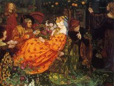 Eleanor Fortescue-Brickdale: The Deceitfulness of Riches