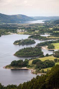 Derwent Water - Lake District, Cumbria, UK