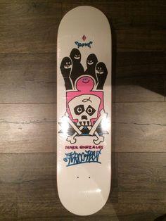 krooked skateboard Mark Gonzales NOS Supreme White Real RARE   Sporting Goods, Outdoor Sports, Skateboarding & Longboarding   eBay!
