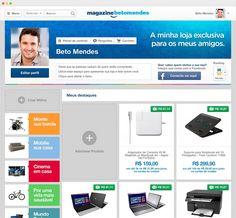 O Magazine Você é o primeiro site de vendas online social do Brasil e conta com toda a estrutura da empresa Magazine Luiza. Conheça a loja de nossos divulgadores e aproveite as ofertas especiais que separamos para você.