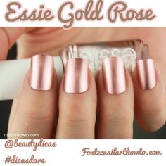 Nail Colors, Nail Polish Trends, Nail Care & At-Home Manicure Supplies by Essie. Shop nail polishes, stickers, and magnetic polishes to create your own nail art look. Fall Nail Polish, Nail Polish Trends, Nail Polish Colors, Nail Polishes, Gold Polish, Polish Nails, Essie Colors, Metallic Nail Polish, Nail Gel