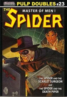 The Spider - Master of Men Pulp Fiction Magazine Cover