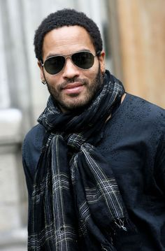lenny kravitz | singer lenny kravitz leaves societe d encouragment pour l industrie ...