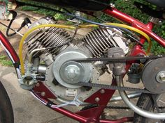 Another twin cylinder Whizzer.
