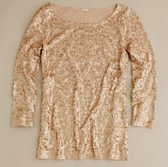 sparkle top. I don't usually like sparkles, but this would be cute for holiday parties, especially with a vintage skirt and tights.