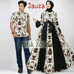 Muslim Fashion, Hijab Fashion, Fashion Dresses, Girls Dresses Sewing, Dress Sewing Patterns, Batik Muslim, Samoan Dress, Batik Couple, Batik Fashion