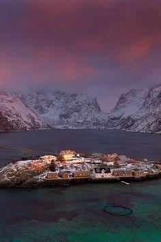 "ponderation: "" Lofoten, Reine (Norway) by VictoriaRogotneva78 """