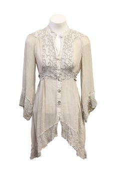 I so want this drapey top by Elisa Cavaletti