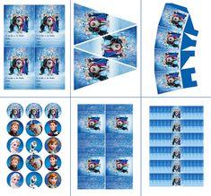 Fiesta de Cumpleaños de Frozen: Mini Kit para Imprimir Gratis. | Ideas y material gratis para fiestas y celebraciones Oh My Fiesta!