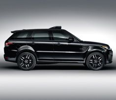 Range Rover Sport SVR which will be featured in the new James Bond movie 'Spectre'
