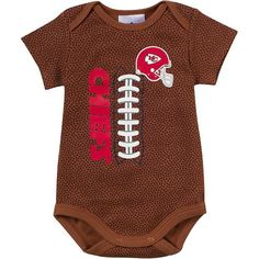 Kansas City Chiefs Football Bodysuit - Baby Kansas City Chiefs Football 589a65129