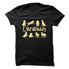 Are you father to a Labrador or six? If so, this t shirts for you!  Makes a perfect gift for the Labrador man in your life whos proud of his Lab children!