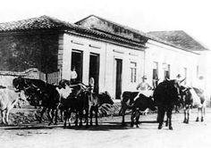 Suzano em 1910; ainda distrito de Mogi das Cruzes - SP