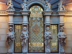 Palau Ramon de Montaner. Carrer de Llùiria-Carrer de Mallorca ,278 Architectes: DOMENECH i MONTANER & DOMENECH i ESTAPA & GALLISSA i. Barcelona - Mallorca