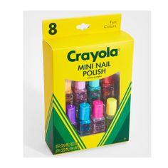 Crayola Nail Polish. It's happening.  $12