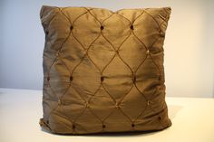 """For a classic decor! Ground and pea Brown velvet satin Cushion cover Invisible zipper Size: 18 """"x / 46 cm x 48 cm Upholstery designer Seams are surjetées for a professional finish Care: washable by hand, dry flat The pillow is not included Throw Pillows, Couture, Boutique, Etsy, Slipcovers, Unique Jewelry, Pattern, Home, Toss Pillows"""