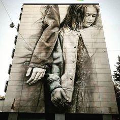 Absolutely gorgeous mural by Australian Guido van Helten in Vallila district! 🎨 📷: @katutaide #myhelsinki #streetarthelsinki #muralsinhelsinki #mural #katutaide #vallila @guidovanhelten