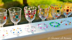 DIY goblets for your medieval-themed party! Cute idea from Shower of Roses: A Medieval Knights, Dragons and Castles Birthday Medieval Crafts, Medieval Party, Dragon Birthday, Dragon Party, 4th Birthday, Castle Party, Knight Party, Holiday Club, Medieval Knight