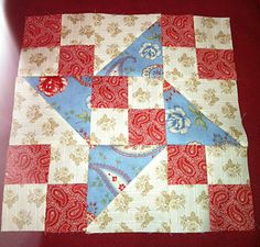 autumn salad quilt block tutorial by Minick and Simpson.
