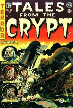 Retrospace: Vintage 1950 Comic Covers: Tales From The Crypt
