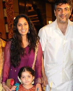 Ajith Kumar family