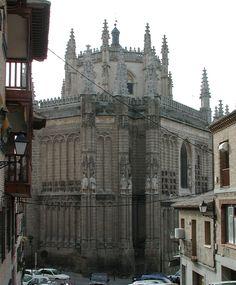 Monasterio de San Juan de Los Reyes - Toledo, Spain - Built by Catholic Monarchs
