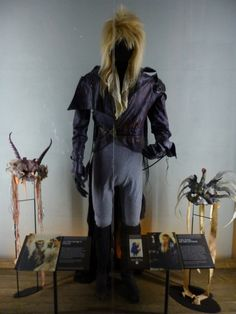David Bowie Costume from Labyrinth Film EMP Seattle