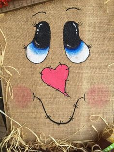 Pallet scarecrow fall decor by TiffinyHDesigns on Etsy … Scarecrow Face, Scarecrow Crafts, Fall Scarecrows, Scarecrow Painting, Wood Scarecrow, Scarecrow Wreath, Autumn Crafts, Thanksgiving Crafts, Holiday Crafts