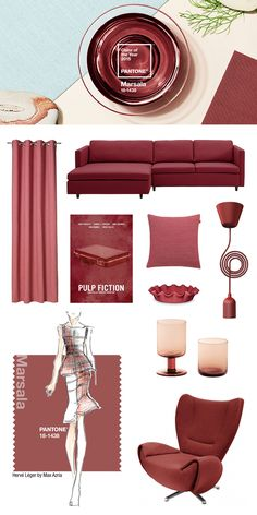 Pantone color of the year 2015: #marsala