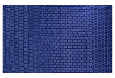 Mistri Rug, Cobalt on OneKingsLane.com  Another hand-knotted cobalt. Wool holds that saturated color so beautifully!