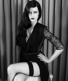 Eva Green News — fandomfatale: Hi, my name is Eva Green, I'm here. Beautiful Celebrities, Beautiful Actresses, Gorgeous Women, Classic Actresses, Actress Eva Green, Mode Glamour, Green News, Bond Girls, French Actress