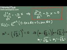 Aplicación ecuaciones diferenciales – problema masa resorte