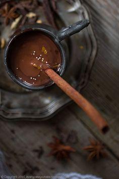 Korzenna gorąca czekolada, spicy hot chocolate, #czekolada #chocolate