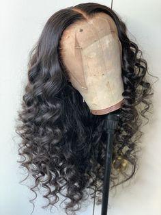 Black Curly Hair, Long Curly Hair, Curly Hair Styles, Natural Hair Styles, Lace Front Wigs, Lace Wigs, Lace Hair, Silky Hair, Curly Wigs