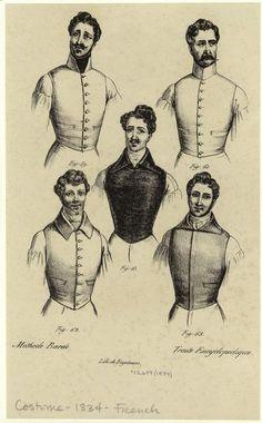 1834 vests
