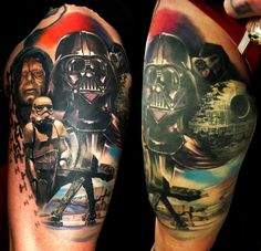 star wars tattoos | tatuajes originales | tattoo_star_wars+