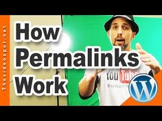 Wordpress SEO: How to reset your Permalinks for SEO By Videospot - YouTube