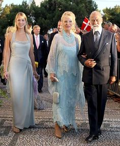 Lady Gabriella Windsor with her parents, Prince and Princess Michael of Kent
