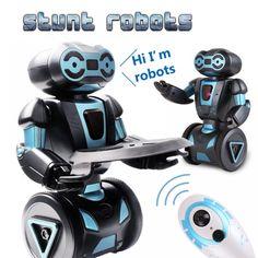 Intelligent Humanoid Robotic Remote Control Robot Smart Self Balancing Robot 5 Operating Modes robot dog pets electronic toys Rc Robot, Smart Robot, Baby Toys, Kids Toys, Balancing Robot, Pet Dogs, Pets, Interactive Toys, Electronic Toys