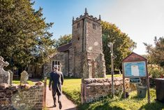 Groom arrives at Dorset countryside church wearing top hat and tails on sunny wedding morning. Photographs by one thousand words wedding photography Church Wedding Ceremony, Wedding Morning, One Thousand, Countryside, Groom, Photographs, Wedding Photography, Portraits, Hat