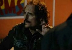 Tig, receiving his apologizes from the dirty cops... Laughed so hard!!!