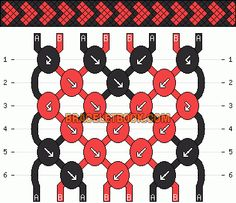 Normal friendship bracelet pattern added by hearts filled heart love sweet. String Bracelet Patterns, Diy Bracelets Patterns, Diy Bracelets Easy, Embroidery Bracelets, Bracelet Crafts, Woven Bracelets, Bracelet Designs, Making Friendship Bracelets, Diy Friendship Bracelets Patterns