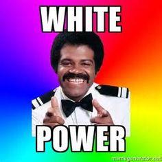 white power meme